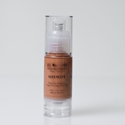 Space Face Ethereal Organic Liquid Foundation – Queenette