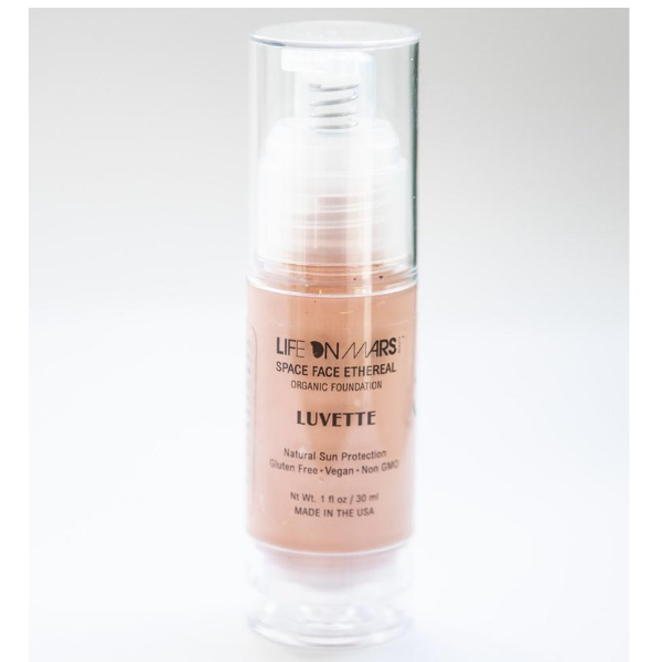 Space Face Ethereal Organic Liquid Foundation – Luvette