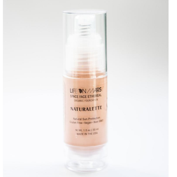 Space Face Ethereal Organic Liquid Foundation – Naturelette