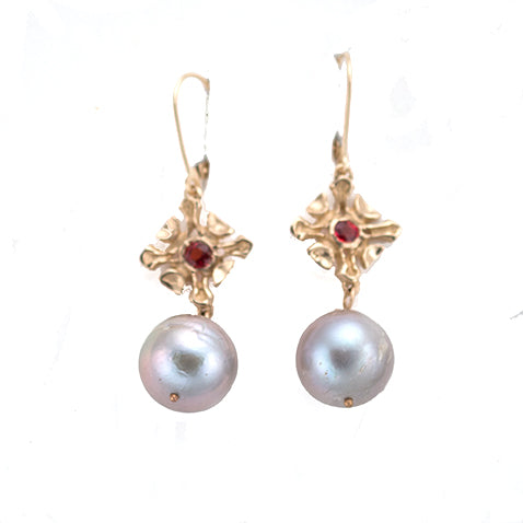 14kt - Vaughn Drop Earring