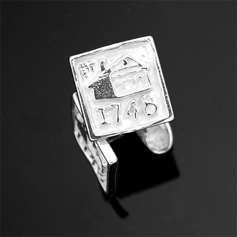 Friend School -LOGO 1748 CUFFLINKS