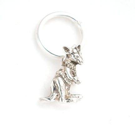 Kangaroo Key Ring- Wilmington Friends School