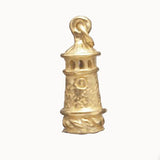 Tower Charm - 14kt Gold