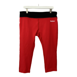 Primary Photo - BRAND: REEBOK STYLE: ATHLETIC CAPRIS COLOR: RED BLACK SIZE: XL SKU: 208-208142-13121