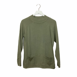 Primary Photo - BRAND: JEANNE PIERRE STYLE: SWEATER LIGHTWEIGHT COLOR: SAGE SIZE: M SKU: 208-208114-40119