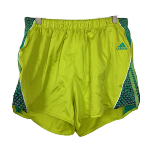 Primary Photo - BRAND: ADIDAS STYLE: ATHLETIC SHORTS COLOR: YELLOW SIZE: XL SKU: 208-208113-32735