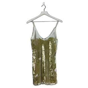 Primary Photo - BRAND: FREE PEOPLE STYLE: DRESS SHORT SLEEVELESS COLOR: SPARKLES SIZE: M SKU: 208-208162-1887