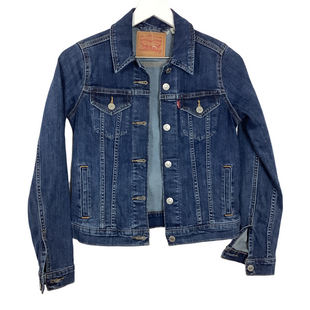 Primary Photo - BRAND: LEVIS STYLE: JACKET OUTDOOR COLOR: DENIM SIZE: XS SKU: 208-208114-42513