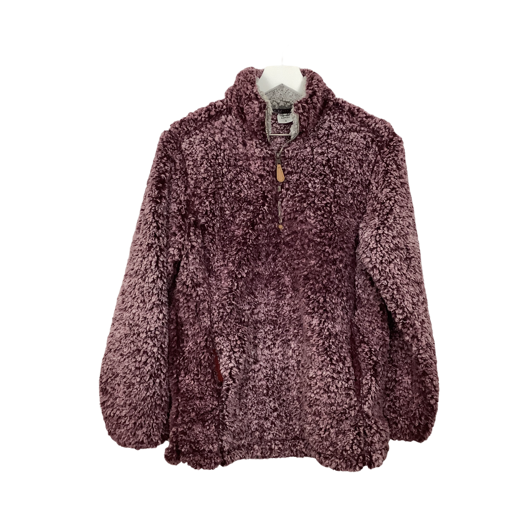 Primary Photo - BRAND:    CLOTHES MENTOR <BR>STYLE: FLEECE <BR>COLOR: BURGUNDY <BR>SIZE: S <BR>OTHER INFO: KATYDID - <BR>SKU: 208-208165-302