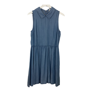 Primary Photo - BRAND: MAISON JULES STYLE: DRESS SHORT SLEEVELESS COLOR: DENIM SIZE: L SKU: 208-208142-13079