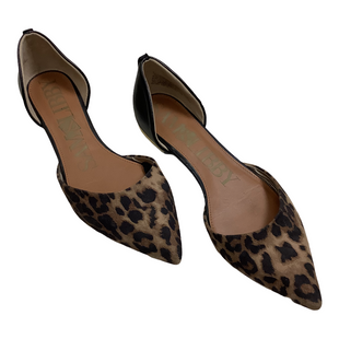 Primary Photo - BRAND: SAM AND LIBBY STYLE: SANDALS FLAT COLOR: ANIMAL PRINT SIZE: 8 OTHER INFO: AS IS SKU: 208-208131-25530