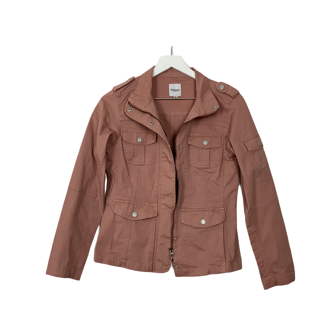 Primary Photo - BRAND: KENSIE <BR>STYLE: JACKET OUTDOOR <BR>COLOR: DUSTY PINK <BR>SIZE: M <BR>SKU: 208-208114-41342