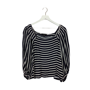 Primary Photo - BRAND: BANANA REPUBLIC STYLE: TOP LONG SLEEVE COLOR: STRIPED SIZE: L SKU: 208-208165-1200AS IS