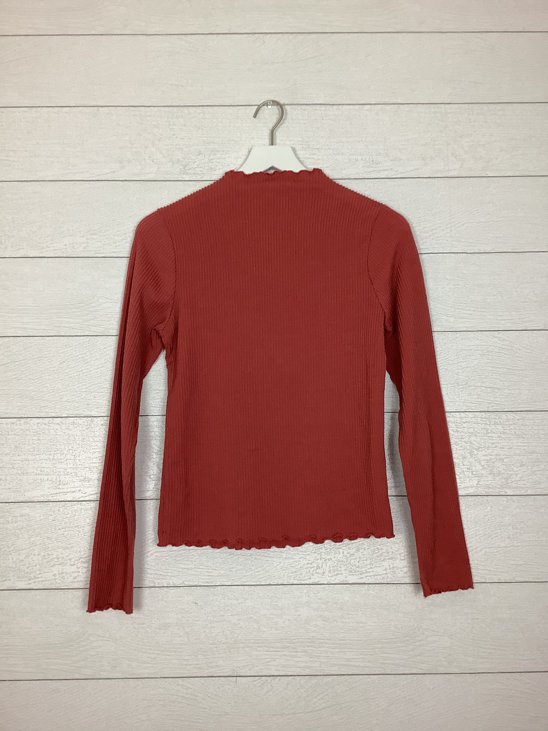 Photo #1 - BRAND: CAUTION TO THE WIND <BR>STYLE: TOP LONG SLEEVE <BR>COLOR: SALMON <BR>SIZE: L <BR>OTHER INFO: AS IS <BR>SKU: 208-208131-23912