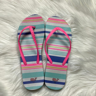 Primary Photo - BRAND: VINEYARD VINES STYLE: FLIP FLOPS COLOR: STRIPED SIZE: 10 OTHER INFO: AS IS SKU: 208-208142-7941
