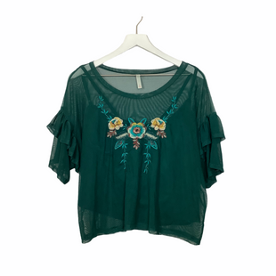 Primary Photo - BRAND: XHILARATION STYLE: TOP SHORT SLEEVE COLOR: HUNTER GREEN SIZE: XL SKU: 208-208114-40113