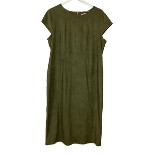 Primary Photo - BRAND: CATO STYLE: DRESS LONG SHORT SLEEVE COLOR: GREEN SIZE: 16 SKU: 208-208142-12545