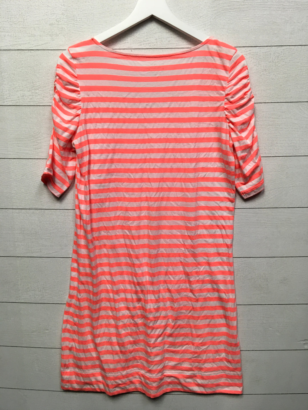 Photo #1 - BRAND: LILLY PULITZER <BR>STYLE: DRESS DESIGNER <BR>COLOR: STRIPED <BR>SIZE: L <BR>OTHER INFO: AS IS-PILING <BR>SKU: 208-208131-14133