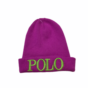 Primary Photo - BRAND: POLO RALPH LAUREN STYLE: HAT COLOR: PURPLE SKU: 208-208114-39115AS IS