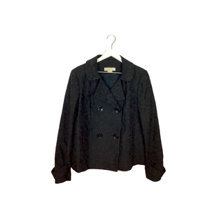 Primary Photo - BRAND: MICHAEL BY MICHAEL KORS STYLE: COAT SHORT COLOR: BLACK SIZE: L SKU: 208-208114-41030