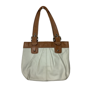 Primary Photo - BRAND: COACH O STYLE: HANDBAG DESIGNER COLOR: WHITE SIZE: MEDIUM OTHER INFO: AS IS SKU: 208-208142-10642