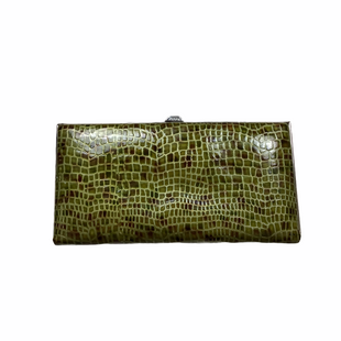Primary Photo - BRAND: LODIS STYLE: WALLET COLOR: GREEN SIZE: MEDIUM SKU: 208-208142-9659