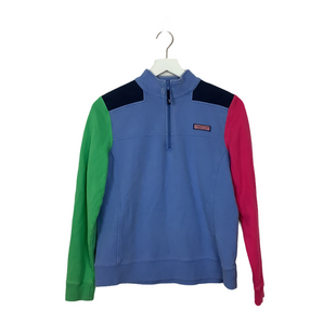 Primary Photo - BRAND: VINEYARD VINES STYLE: SWEATER HEAVYWEIGHT COLOR: BLUE SIZE: M SKU: 208-208142-14503AS IS