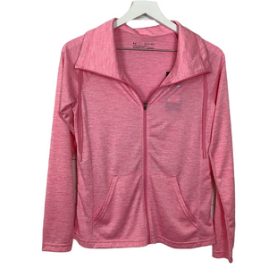 Primary Photo - BRAND: UNDER ARMOUR STYLE: ATHLETIC JACKET COLOR: HOT PINK SIZE: XS SKU: 208-208162-1778