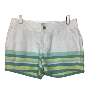 Primary Photo - BRAND: COLUMBIA STYLE: SHORTS COLOR: WHITE BLUE SIZE: 6 SKU: 208-208131-22699