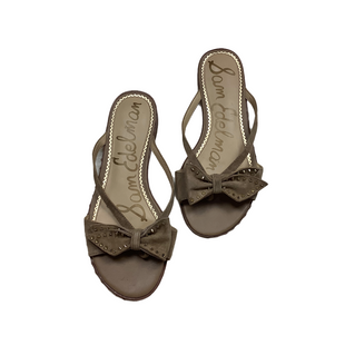 Primary Photo - BRAND: SAM EDELMAN STYLE: SANDALS FLAT COLOR: TAN SIZE: 8.5 SKU: 208-208162-1655