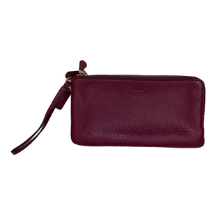 Primary Photo - BRAND: COACH STYLE: WRISTLET COLOR: MAGENTA OTHER INFO: AS IS SKU: 208-208131-25617