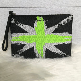 Primary Photo - BRAND: MICHAEL KORS STYLE: WRISTLET COLOR: WHITE GREEN SIZE: L SKU: 208-208131-15151