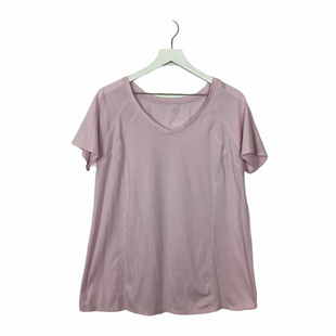 Primary Photo - BRAND: LIVI ACTIVE STYLE: ATHLETIC TOP SHORT SLEEVE COLOR: PINK SIZE: 14 SKU: 208-208131-22395