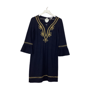 Primary Photo - BRAND: CROWN AND IVY STYLE: DRESS SHORT LONG SLEEVE COLOR: NAVY SIZE: S SKU: 208-208142-14543