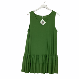 Primary Photo - BRAND: ZENANA OUTFITTERS STYLE: TOP SLEEVELESS COLOR: GREEN SIZE: 2X SKU: 208-208114-38475AS IS