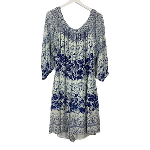 Primary Photo - BRAND: ANTHROPOLOGIE STYLE: DRESS SET 2PC COLOR: BLUE WHITE SIZE: XL SKU: 208-208142-13337