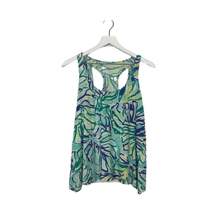 Primary Photo - BRAND: LILLY PULITZER STYLE: TOP SLEEVELESS COLOR: BLUE SIZE: XS SKU: 208-208142-14619AS IS