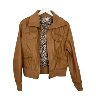 Primary Photo - BRAND: ZENANA OUTFITTERS STYLE: JACKET OUTDOOR COLOR: TAN SIZE: M OTHER INFO: AS IS SKU: 208-208131-23953