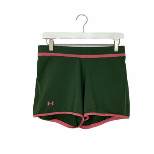 Primary Photo - BRAND: UNDER ARMOUR STYLE: ATHLETIC SHORTS COLOR: GREEN SIZE: L SKU: 208-208131-23575