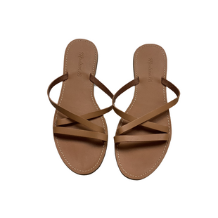 Primary Photo - BRAND: MADEWELL STYLE: SANDALS FLAT COLOR: TAN SIZE: 8.5 SKU: 208-208142-9116