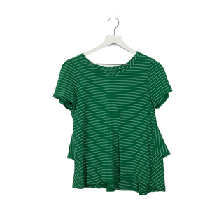 Primary Photo - BRAND: ANTHROPOLOGIE STYLE: TOP SHORT SLEEVE COLOR: GREEN SIZE: S SKU: 208-208165-439