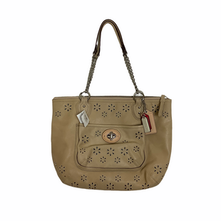 Primary Photo - BRAND: COACH STYLE: HANDBAG DESIGNER COLOR: TAN SIZE: MEDIUM SKU: 208-208131-22347AS IS