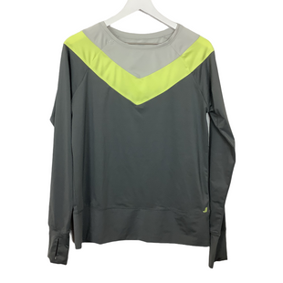 Primary Photo - BRAND: JOE FRESH STYLE: ATHLETIC TOP COLOR: GREY SIZE: L SKU: 208-208131-23935