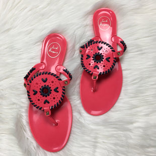 Primary Photo - BRAND: JACK ROGERS STYLE: SANDALS FLAT COLOR: PINK SIZE: 11 SKU: 208-208131-16888