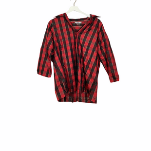 Primary Photo - BRAND: ALIA STYLE: TOP LONG SLEEVE COLOR: BLACK RED SIZE: L SKU: 208-208153-38