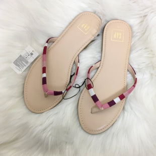 Primary Photo - BRAND: GAP STYLE: SANDALS FLAT COLOR: PINK PURPLE SIZE: 9 SKU: 208-208131-15243