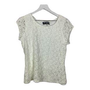 Primary Photo - BRAND: KARL LAGERFELD STYLE: TOP DESIGNER COLOR: WHITE SIZE: L SKU: 208-208113-30598