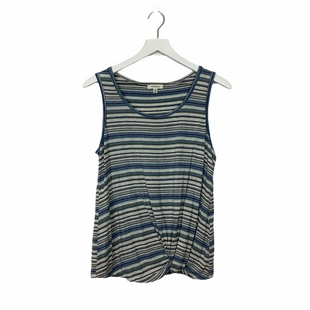 Primary Photo - BRAND: MAX STUDIO STYLE: TOP SLEEVELESS COLOR: BLUE GREEN SIZE: M SKU: 208-208114-37555