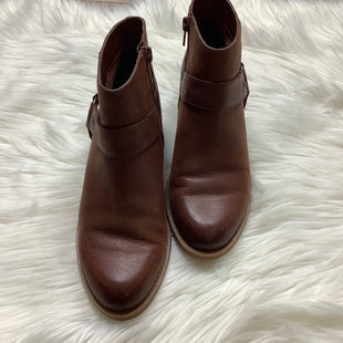 Primary Photo - BRAND: NINE WEST SHOES STYLE: BOOTS ANKLE COLOR: BROWN SIZE: 6 SKU: 208-208113-22094