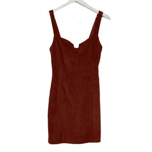 Primary Photo - BRAND: FOREVER 21 STYLE: DRESS SHORT SLEEVELESS COLOR: RUST SIZE: M SKU: 208-208142-14273